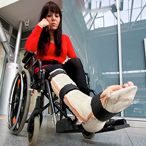 Many accidents can leave Corpus Christi residents in a wheelchair like this one. If you have been hurt, contact a Corpus Christi, Texas personal injury attorney to learn your rights.